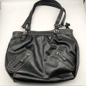 Rosetti Black Shoulder Bag